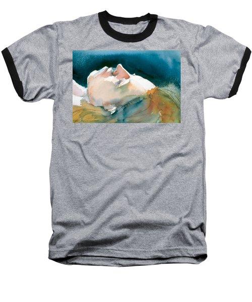 Reclining Head Study Baseball T-Shirt