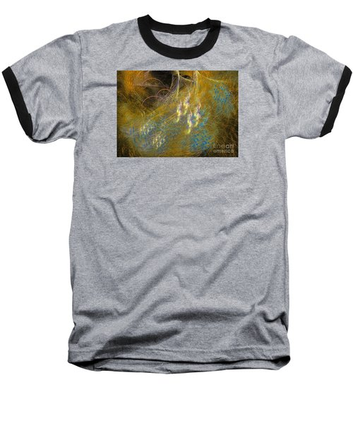 Baseball T-Shirt featuring the digital art Recovering by Sipo Liimatainen