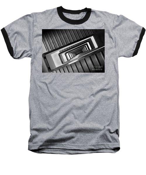 Rectangular Spiral Staircase Baseball T-Shirt
