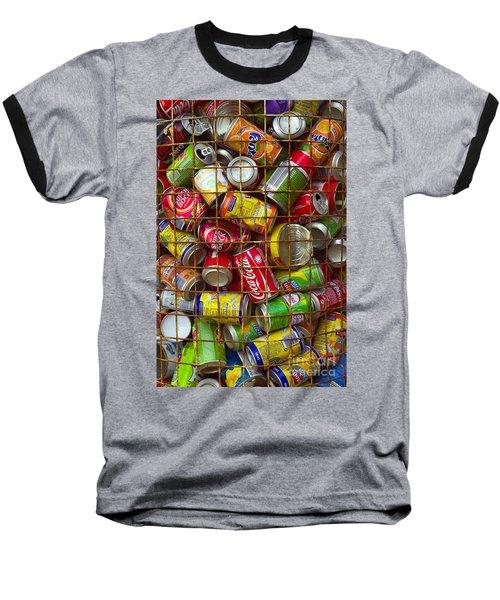 Recycling Cans Baseball T-Shirt