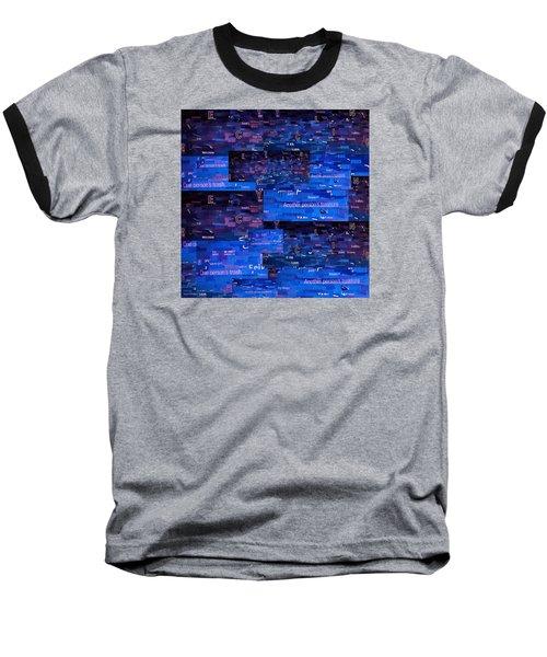 Recycling Baseball T-Shirt by Shawna Rowe
