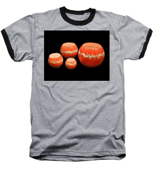 Red And White Bowls Baseball T-Shirt