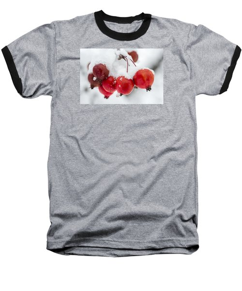 Baseball T-Shirt featuring the photograph Red And White by Sebastian Musial