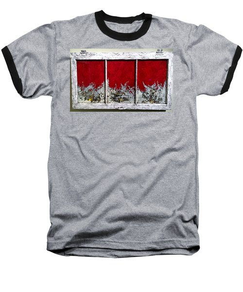 Red And White Widow # 2 Baseball T-Shirt