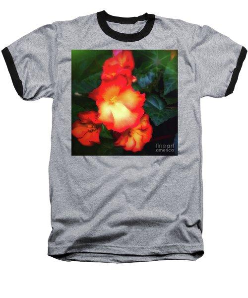 Red  And Yellow Baseball T-Shirt
