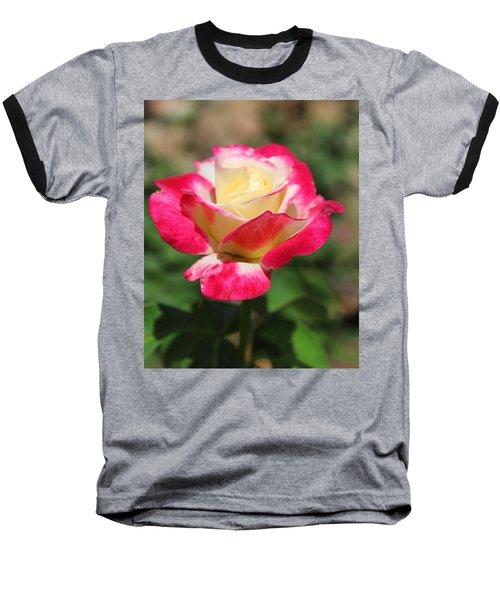 Red And Yellow Rose Baseball T-Shirt