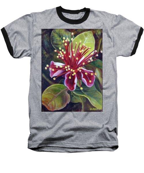 Pineapple Guava Flower Baseball T-Shirt
