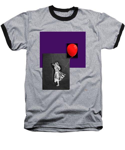 Red Balloon 2 Baseball T-Shirt