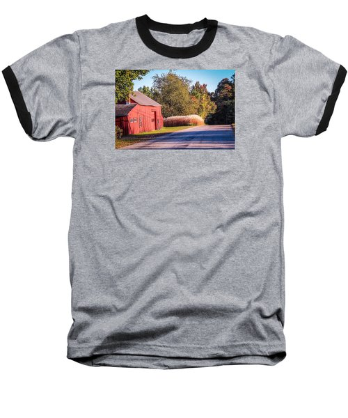 Red Barn In The Country Baseball T-Shirt