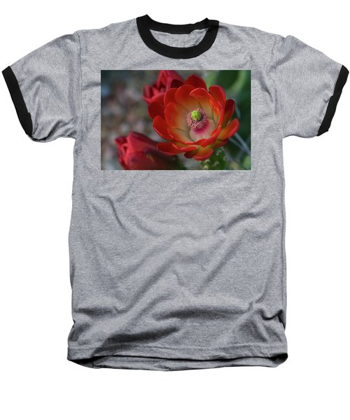 Baseball T-Shirt featuring the photograph Red Beauty  by Saija Lehtonen