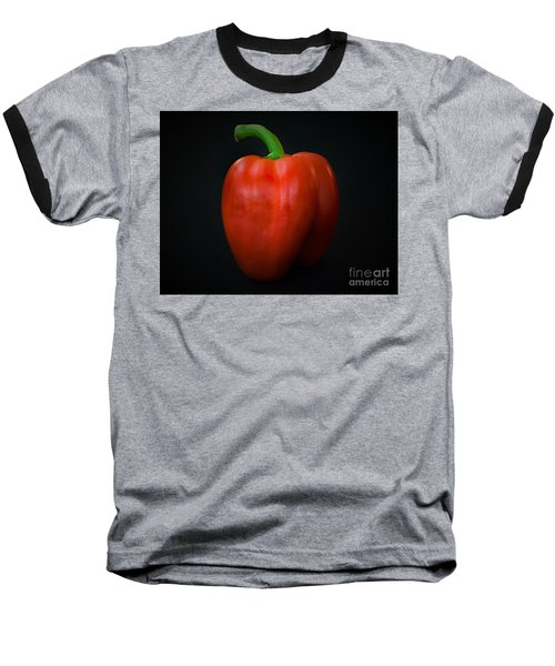 Red Bell Pepper Baseball T-Shirt