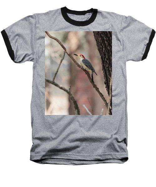 Red-bellied Woodpecker Baseball T-Shirt