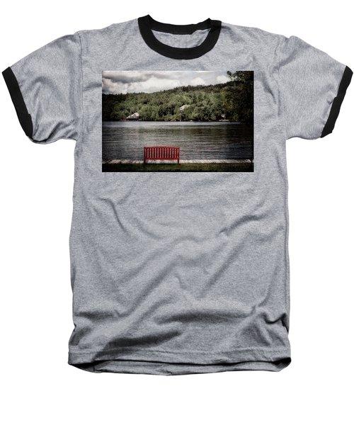 Red Bench Baseball T-Shirt