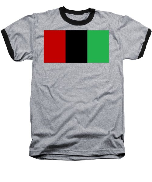 Red Black And Green Baseball T-Shirt