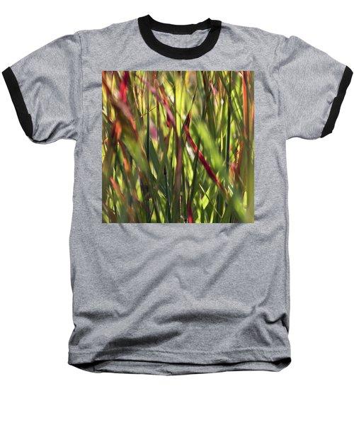 Red Blades Among The Green Baseball T-Shirt