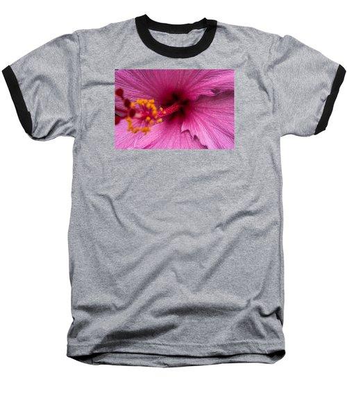 Red Bloom - Pla302 Baseball T-Shirt