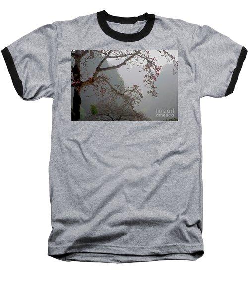 Red Blossoms  Vietnam  Baseball T-Shirt