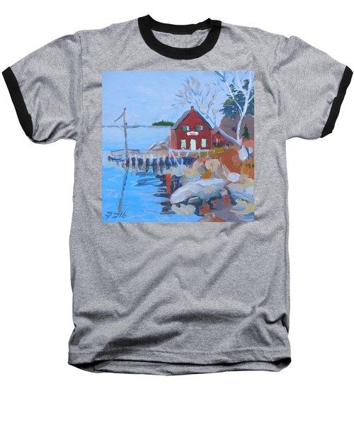 Red Boat House Baseball T-Shirt