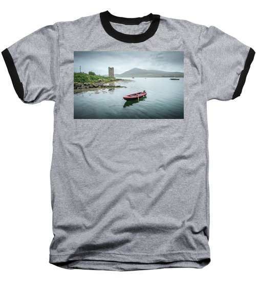 Red Boat Baseball T-Shirt by Marty Garland