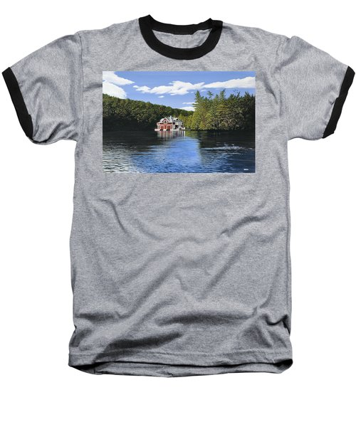 Red Boathouse Baseball T-Shirt
