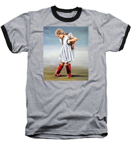 Red Boots Baseball T-Shirt