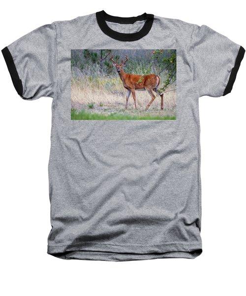 Red Bucks 1 Baseball T-Shirt