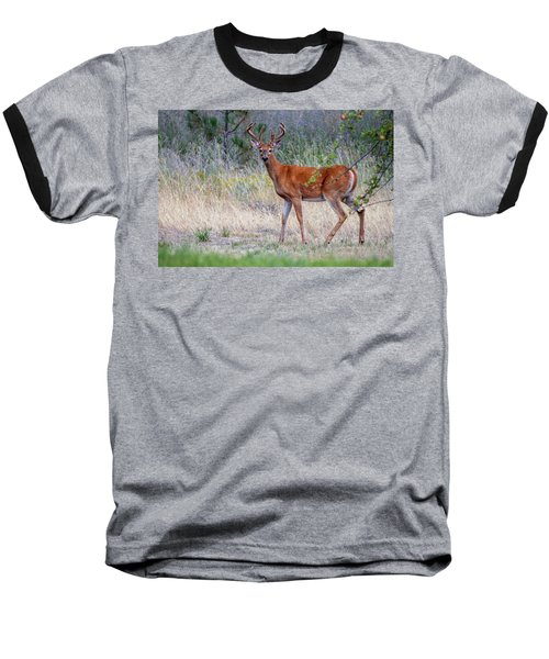 Red Bucks 1 Baseball T-Shirt