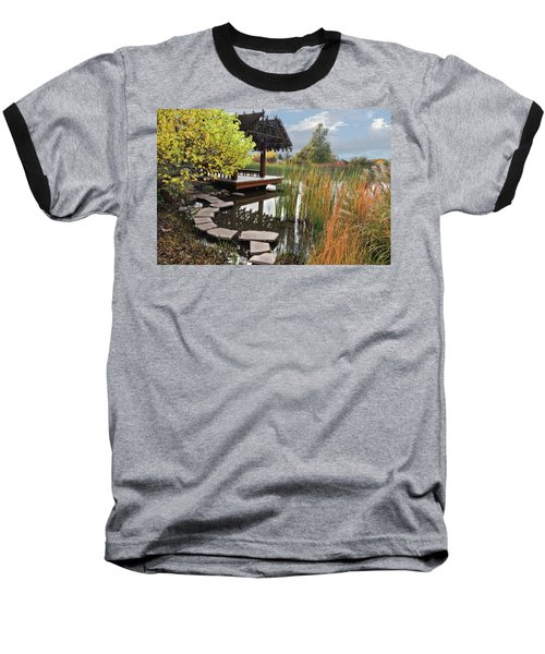 Red Butte Gardens Baseball T-Shirt by Utah Images