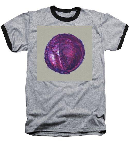 Red Cabbage Baseball T-Shirt