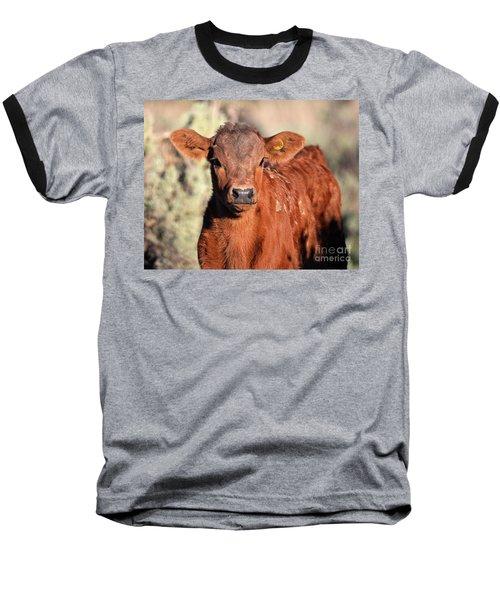 Red Calf Baseball T-Shirt