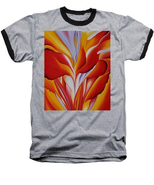 Red Canna Baseball T-Shirt