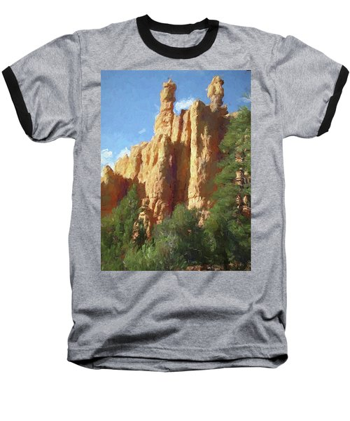 Red Canyon Twins Baseball T-Shirt