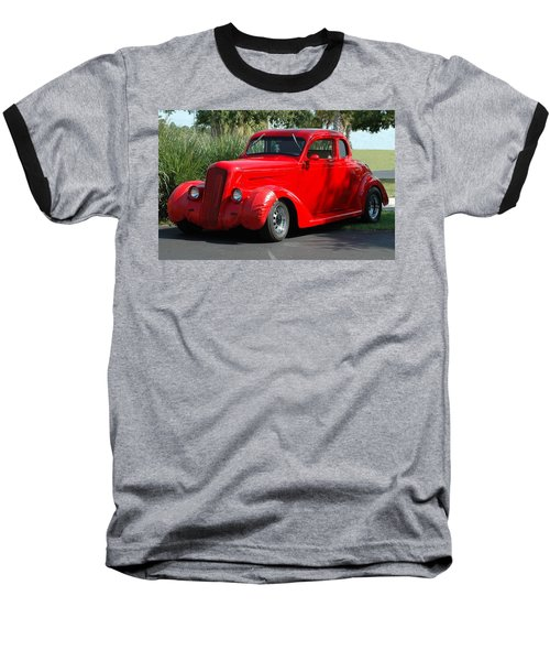 Red Car Baseball T-Shirt