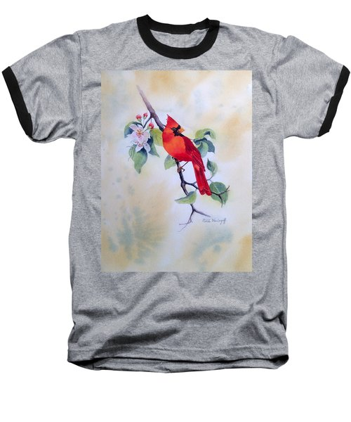 Red Cardinal  Baseball T-Shirt