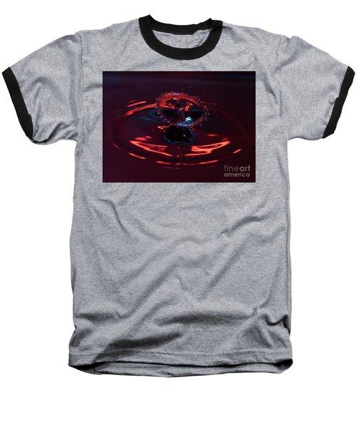 Red Carousel Baseball T-Shirt