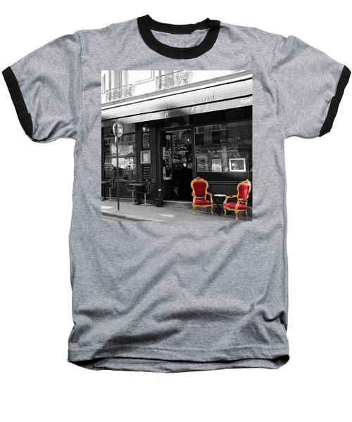 Red Chairs Baseball T-Shirt