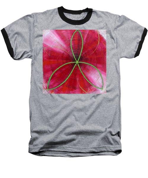 Red Chakra Baseball T-Shirt