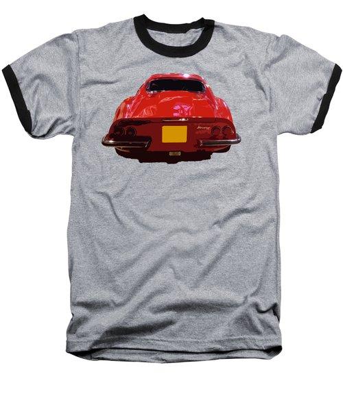 Red Classic Emd Baseball T-Shirt