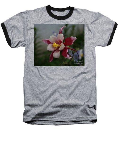 Red Columbine Baseball T-Shirt