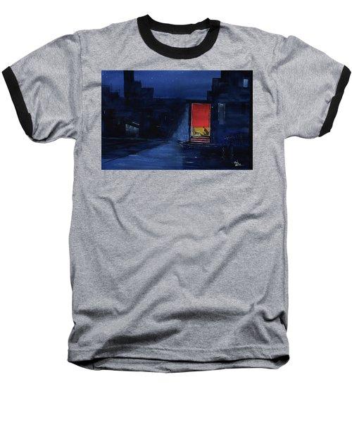Red Curtain Baseball T-Shirt