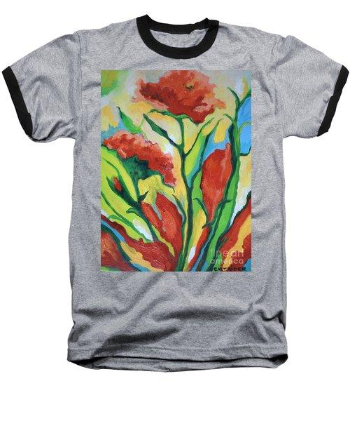 Red Delight Baseball T-Shirt