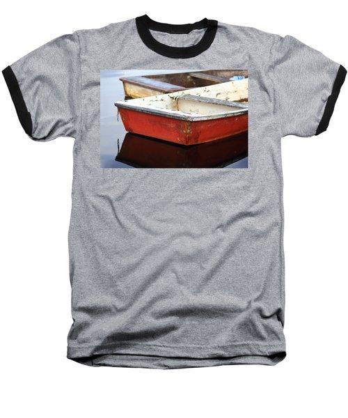 Red Dingy Baseball T-Shirt