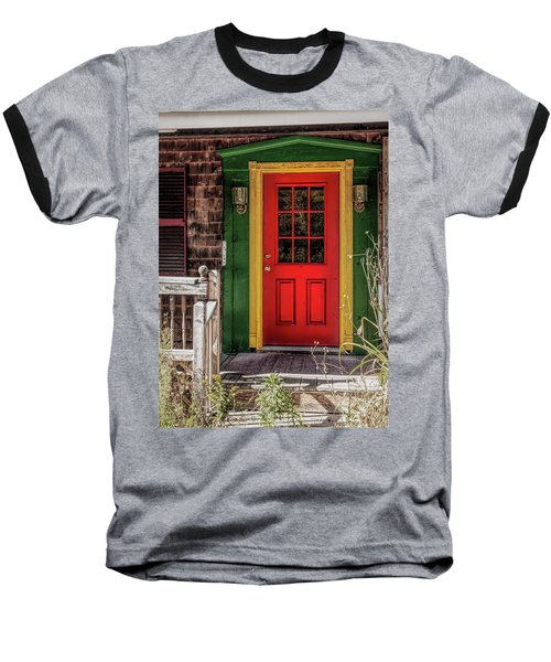 Red Door Baseball T-Shirt