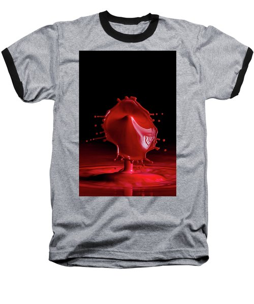Red Drop Baseball T-Shirt