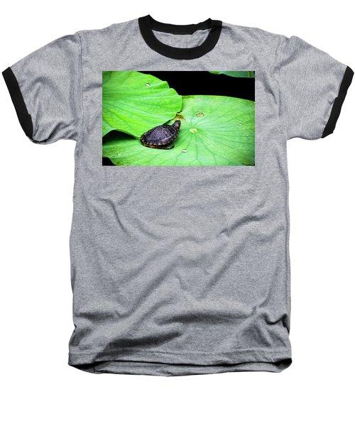 Red-eared Slider Baseball T-Shirt