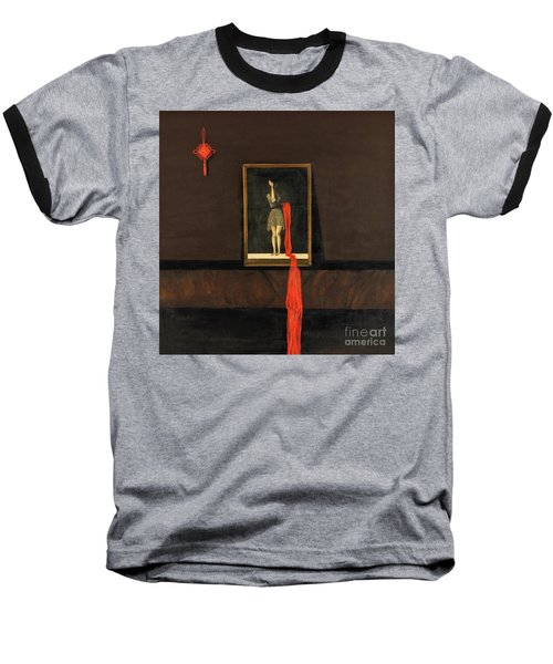 Red Echo Baseball T-Shirt