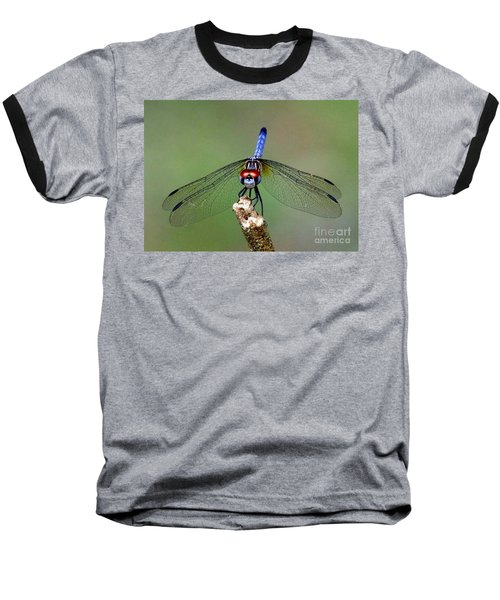 Red Eyed Dragonfly Baseball T-Shirt
