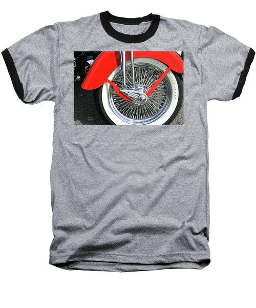 Red Fender Baseball T-Shirt