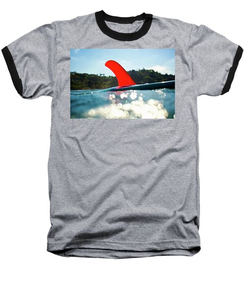 Red Fin Baseball T-Shirt