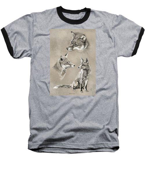 Red Fox Baseball T-Shirt